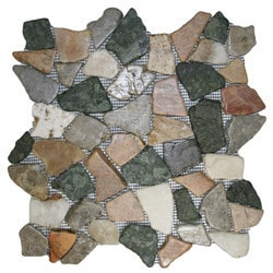 CNK Tile Pebble Tiles Model 151184041 Kitchen Stone Mosaics