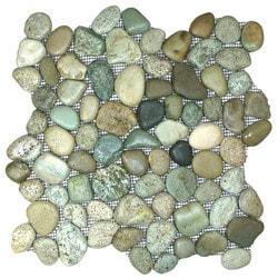 CNK Tile Pebble Tiles Model 151184011 Kitchen Stone Mosaics