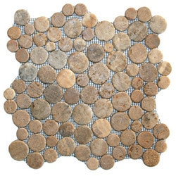 CNK Tile Pebble Tiles Model 151183901 Kitchen Stone Mosaics
