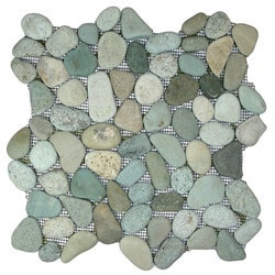 CNK Tile Pebble Tiles Model 150723171 Kitchen Stone Mosaics