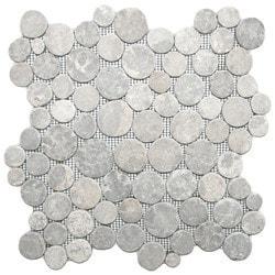 CNK Tile Pebble Tiles Model 151184521 Kitchen Stone Mosaics