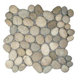 CNK Tile Pebble Tiles Model 150723101 Kitchen Stone Mosaics