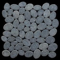 Pebbletile Mosaic Indonisian Marble Cut/ tumbled Model 151276191 Marble Flooring Tiles