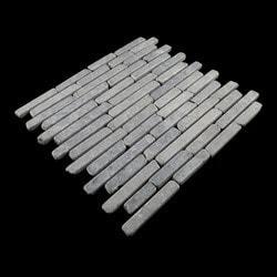Pebbletile Mosaic Indonisian Marble Cut/ tumbled Model 151276261 Marble Flooring Tiles