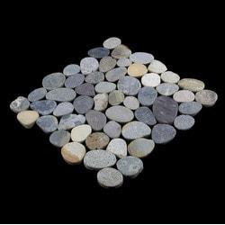 Pebbletile Pebble Tile Model 151276521 Kitchen Stone Mosaics