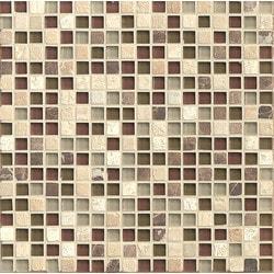 Bedrosians Eclipse Glass/Stone blend Model 150858171 Kitchen Wall Tiles