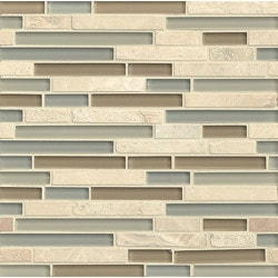 Bedrosians Eclipse Glass/Stone blend Model 150858261 Kitchen Wall Tiles