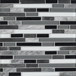 Bedrosians Eclipse Glass/Stone blend Type 150858271 Kitchen Wall Tiles in Canada