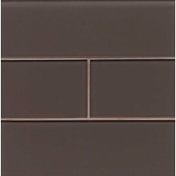 "Hamptons Bedrosians 4"" x 12"" Kitchen Glass Mosaics Type 150735971 in Canada"