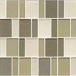 Bedrosians Manhattan Glass Mosaics Model 150737781 Kitchen Glass Mosaics