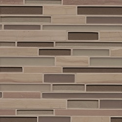 Bedrosians Manhattan Glass/Stone blend Type 150855251 Kitchen Wall Tiles in Canada