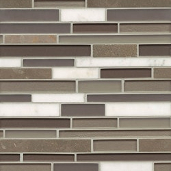 Bedrosians Manhattan Glass/Stone blend Type 150855291 Kitchen Wall Tiles in Canada