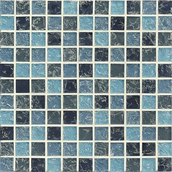 "Ice Crackle Bedrosians 11.5"" x 11.5"" Kitchen Glass Mosaics Type 150736791 in Canada"