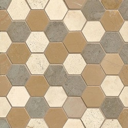 Bedrosians Limestone Natural stone mosaics Type 150744471 Kitchen Stone Mosaics in Canada