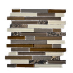 Newlinkz Glass mosaic Model 150809551 Kitchen Glass Mosaics