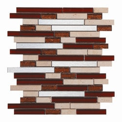 Newlinkz Glass mosaic Model 150809521 Kitchen Glass Mosaics