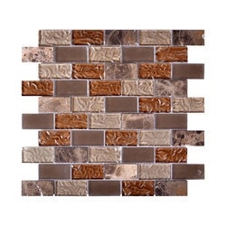 Newlinkz Glass mosaic Model 150809541 Kitchen Glass Mosaics