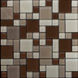 Newlinkz Glass mosaic Model 150788191 Kitchen Glass Mosaics