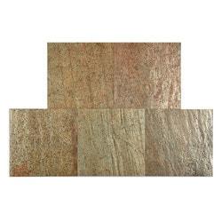 FastStone Peel & Stick Slate Wall Tile Copper Model 150714801 Kitchen Stone Mosaics
