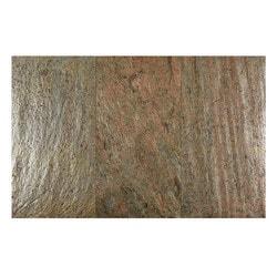 FastStone Peel & Stick Slate Wall Tile Copper Model 150714811 Kitchen Stone Mosaics