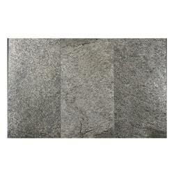 FastStone Peel & Stick Slate Wall Tile Silver Shine Model 150714741 Kitchen Stone Mosaics