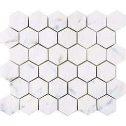 Marbletiledirect BIANCO DOLOMITI CLASSIC MOSAICS Model 150950961 Kitchen Stone Mosaics