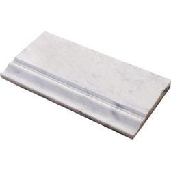 Marbletiledirect BIANCO DOLOMITI MOLDING Model 150954231 Marble Flooring Tiles