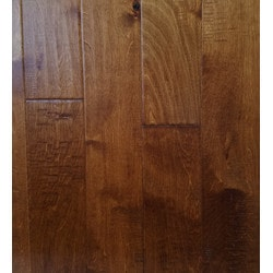"GreenTouch 3/8"" Engineered Hardwood Handscraped Birch Model 151508551 Engineered Hardwood Floors"