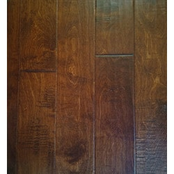 "GreenTouch 3/8"" Engineered Hardwood Handscraped Birch Model 151508601 Engineered Hardwood Floors"