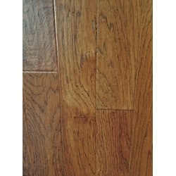 "GreenTouch 3/8"" Engineered Hardwood Handscraped Hickory Model 151508381 Engineered Hardwood Floors"