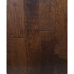 "GreenTouch 3/8"" Engineered Hardwood Handscraped Hickory Model 151508411 Engineered Hardwood Floors"