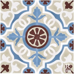 Encaustic Cement Tile Amalia Mexican Tile Pattern 8x8