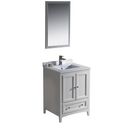 "Fresca Oxford 24"" Traditional Bathroom Vanity Type 151618761 Bathroom Vanities in Canada"