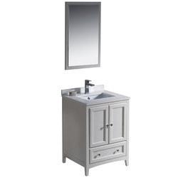"Fresca Oxford 24"" Traditional Bathroom Vanity Type 151618761 Bathroom Vanities in Canada"