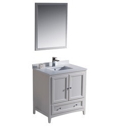 "Fresca Oxford 30"" Traditional Bathroom Vanity Model 151618851 Bathroom Vanities"