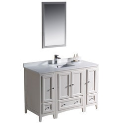 "Fresca Oxford 48"" Traditional Bathroom Vanity Model 151618561 Bathroom Vanities"