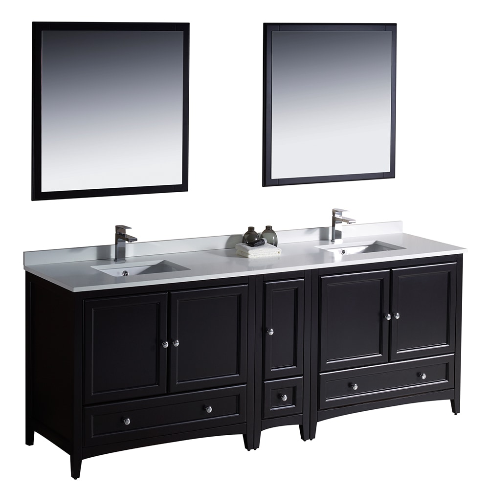 84 bathroom vanity double sink fresca oxford 84 quot traditional sink bathroom vanity 21884