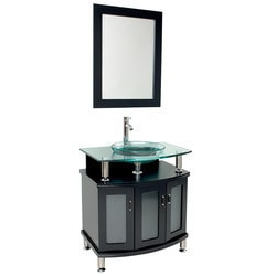 "Fresca Contento 30"" Modern Bathroom Vanity with Mirror Type 151618991 Bathroom Vanities in Canada"