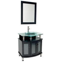 "Fresca Contento 30"" Modern Bathroom Vanity with Mirror Type 151618991 Bathroom Vanities in Canada"