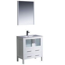 Fresca Torino Contemporary Free Standing Plywood Type 151095121 Bathroom Vanities in Canada