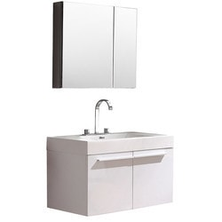 Fresca Vista Modern Bathroom Vanity with Medicine Cabinet Type 151621301 Bathroom Vanities in Canada
