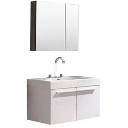 Fresca Vista Modern Bathroom Vanity with Medicine Cabinet Type 151621301 Bathroom Vanities in Canada