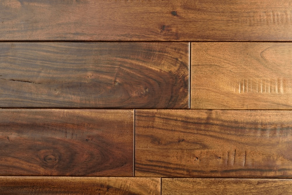 Floors geek hardwood flooring acacia distressed solid for Hardwood flooring 78666