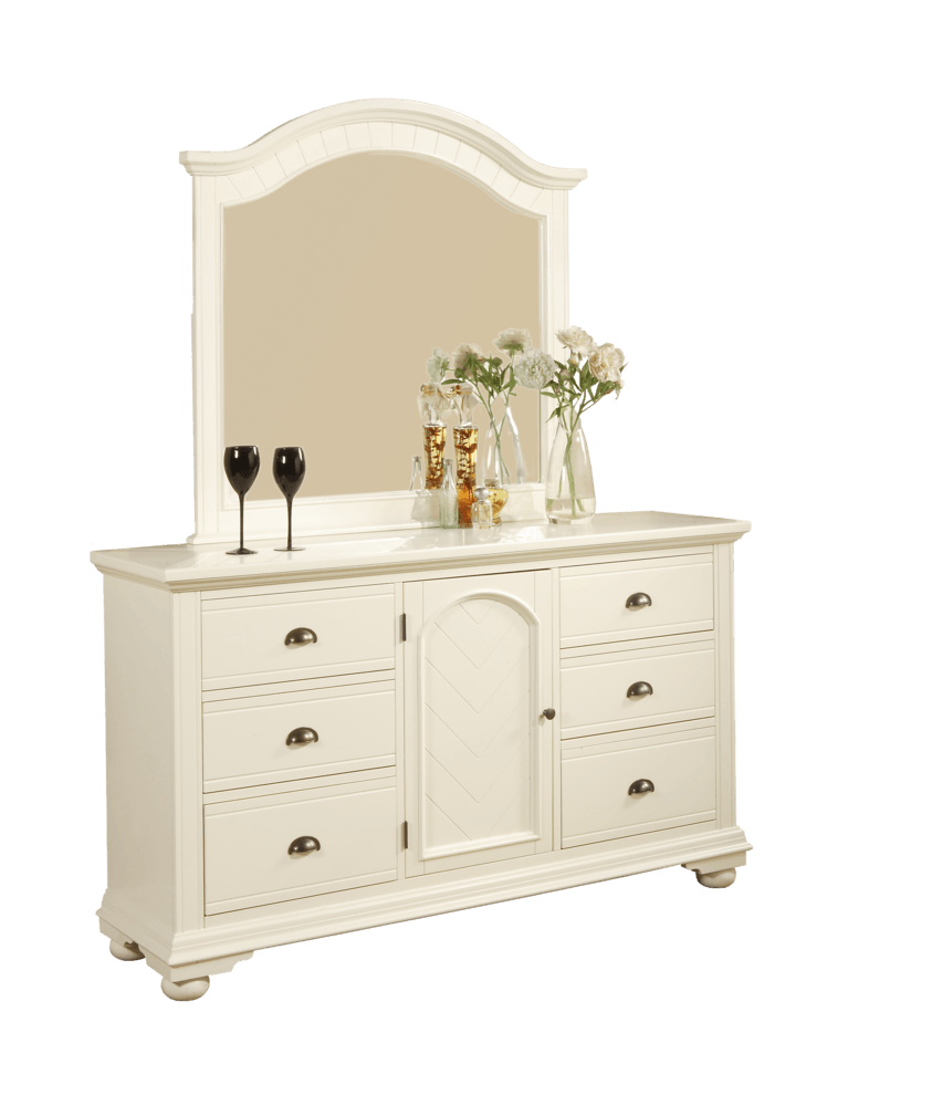 Picket House Furnishings Addison Bedroom Collection Dresser Mirror 1 Pc White Bp700drmr