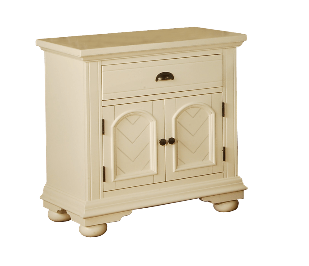 Picket House Furnishings Addison Bedroom Collection Nightstand 1 Pc White Bp700nsw