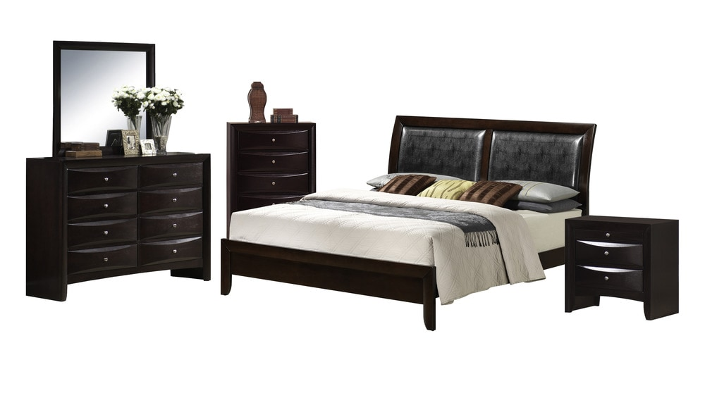 Picket House Furnishings Madison Bedroom Collection Queen Size Bedroom Set 5 Pc Mahogany