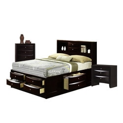 furnishings madison bedroom collection king size storage bedroom set