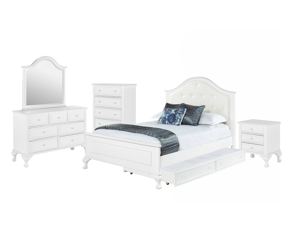 Picket House Furnishings Jenna Bedroom Collection Full Size Bed With Trundle Bedroom Set 5 Pc