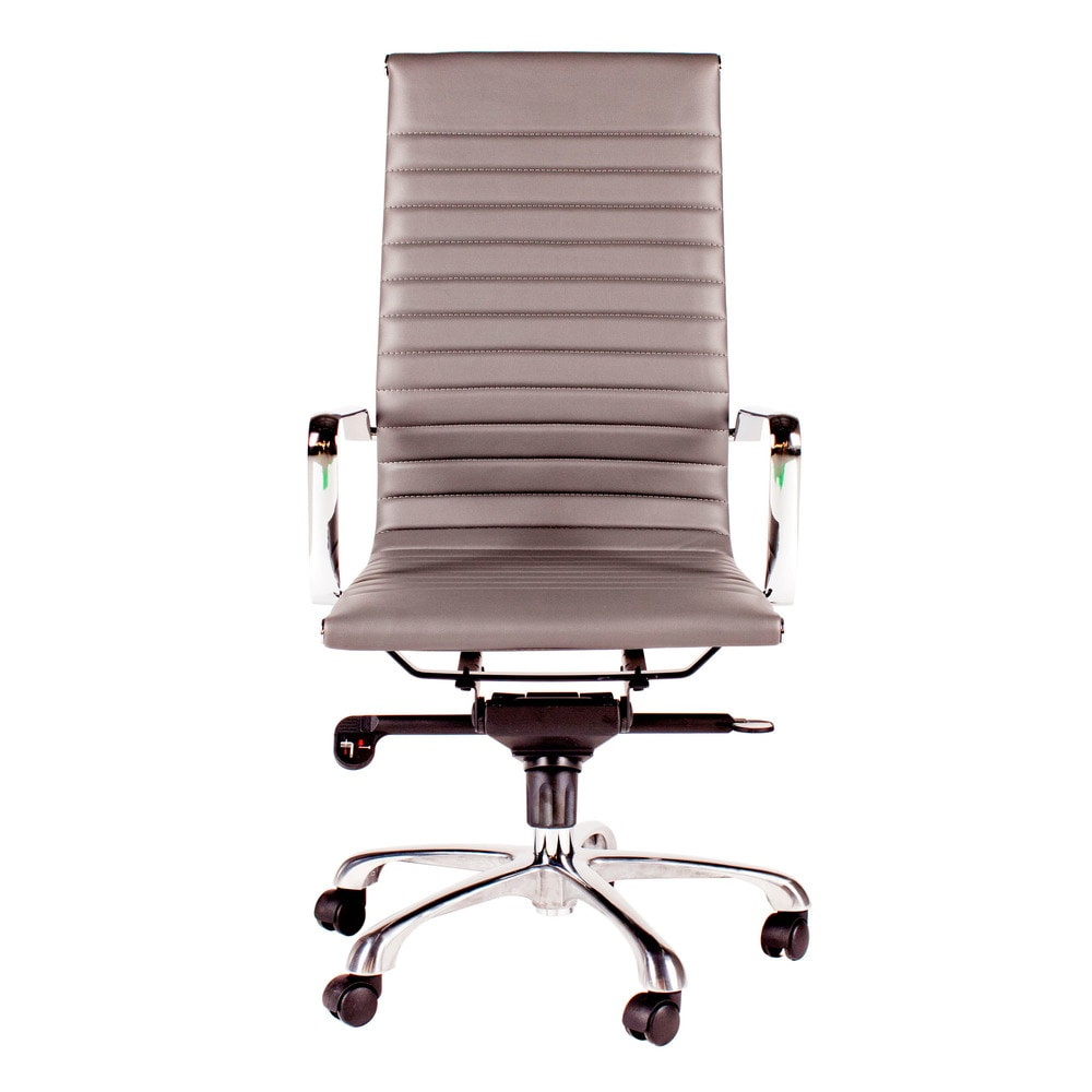 Moe s Home Collection Omega fice Chair High Back Grey