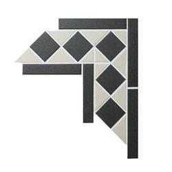 ANT TILE Square & Triangle Unglazed Corner Model 151888581 Kitchen Wall Tiles